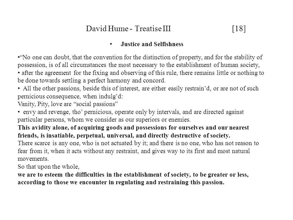David Hume - Treatise III [18]